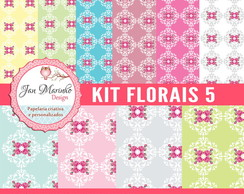 Kit Digital Florais 5