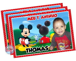 Foto imã do Mickey Mause