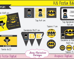 Kit Festa Digital Básico - Batman