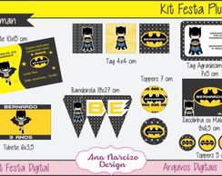 Kit Festa Digital Plus - Batman