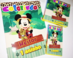 Kit de colorir - MICKEY SAFARI