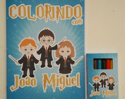 Kit Colorir (Harry Potter)