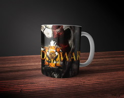 Caneca God of War Kratos