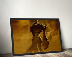 Quadro Shadow of the Colossus Gaius