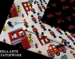 SUPER KIT TECIDO PATCHWORK 30 X 70CM
