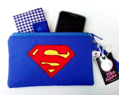 Necessaire Multiuso Superman