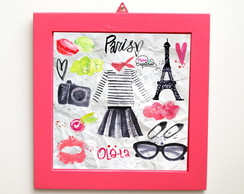 "Quadro ""Paris fashion"""