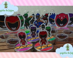 Kit festa Power Rangers Dino Charge