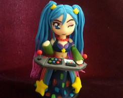 Figure Sona Fliperama, League Of Legends