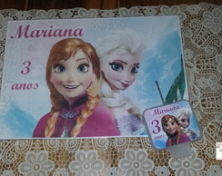 Papel Arroz + Vela FROZEN
