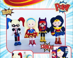 Apostila digital super hero girls