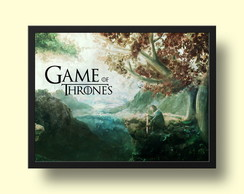 Quadro Game of Thrones - art