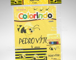 Kit Colorir Abelilha + Brindes