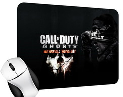 Mouse Pad Gamer do Call of Duty