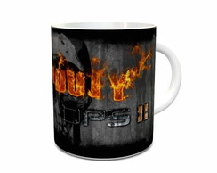 Caneca de Porcelana do Call of Duty M03