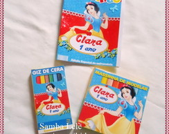 kit MINI Branca de neve com Massinha