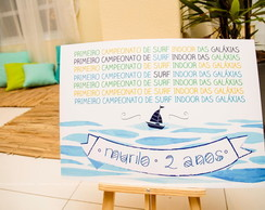 Cartaz campeonato de surf (digital)