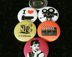 Buttons (broches): Cinema
