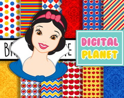 Papel Digital - Branca de Neve 1