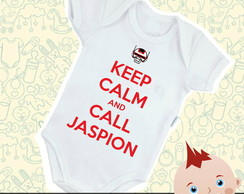 Body Bebê Keep Calm And Call Jaspion