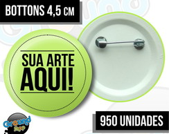 950 Bottons 4,5 Personalizados - Buttom