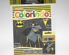 Kit Colorir Batman + Brindes