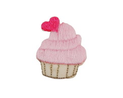 Patches Bordados Apliques Cupcake