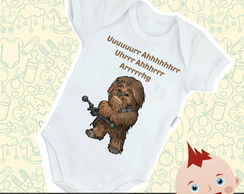 Body Bebê Infantil Chewbacca Star Wars