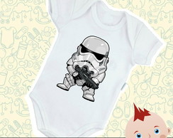 Body Bebê Stormtrooper Baby Star Wars