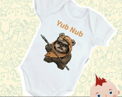 Body Bebê Apache Wicket Star Wars Baby