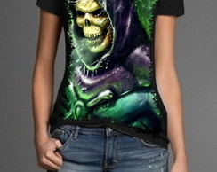 Camiseta Esqueleto - inimigo do He-man