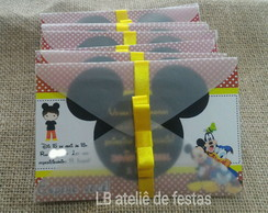 Convites: Mickey Mouse