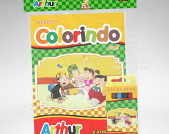 Kit Colorir Chaves + Brindes