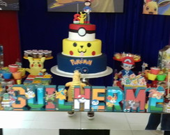 Letras 3D Pokemon