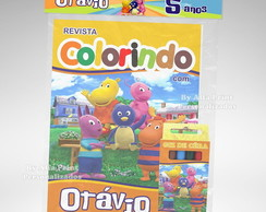 Kit Colorir Backyardigans + Brindes