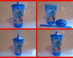 Copo c/ Canudo 500ml Dragon Ball Z 02
