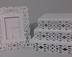 Kit mdf Provencal Arabesco