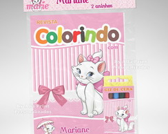 Kit Colorir Gata Marie + Brindes
