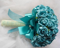 Bouquet azul tiffany