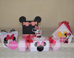 Kit digital Minnie Mouse Pink - Arquivo