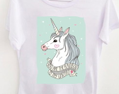 T-shirt Rainbow unicorn