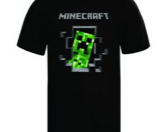 Camiseta Minecraft Wiizinho Azul  903fe8c23d89d
