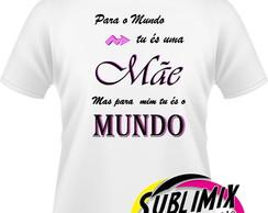 Camiseta Personalizada Dia Das Mães Elo7
