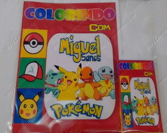 Kit de colorir Pokemon