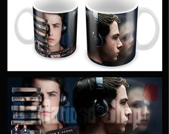 Caneca 13 Reasons Why - Clay e Hannah