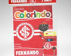 Kit Colorir Internacional + Brindes