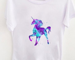 T-shirt Watercolor Unicorn