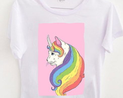 T-shirt Cat Unicorn
