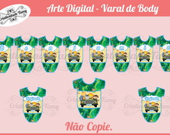 Arte Digital - Varal de Body
