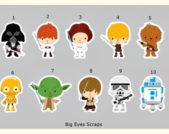 Aplique Star Wars 1 - 3,5 cm